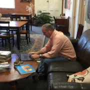 Coworking space and networking at The Hive RI in our comfortable Rhode Island workspace